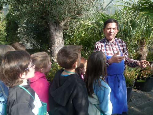 """Aktion """"Schülertag in der Gärtnerei"""""""
