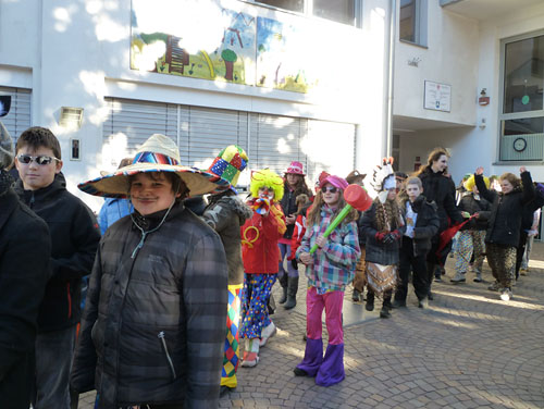 Fasching an der GS Naturns