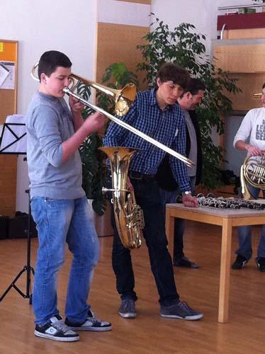 Musikinstrumentenvorstellung